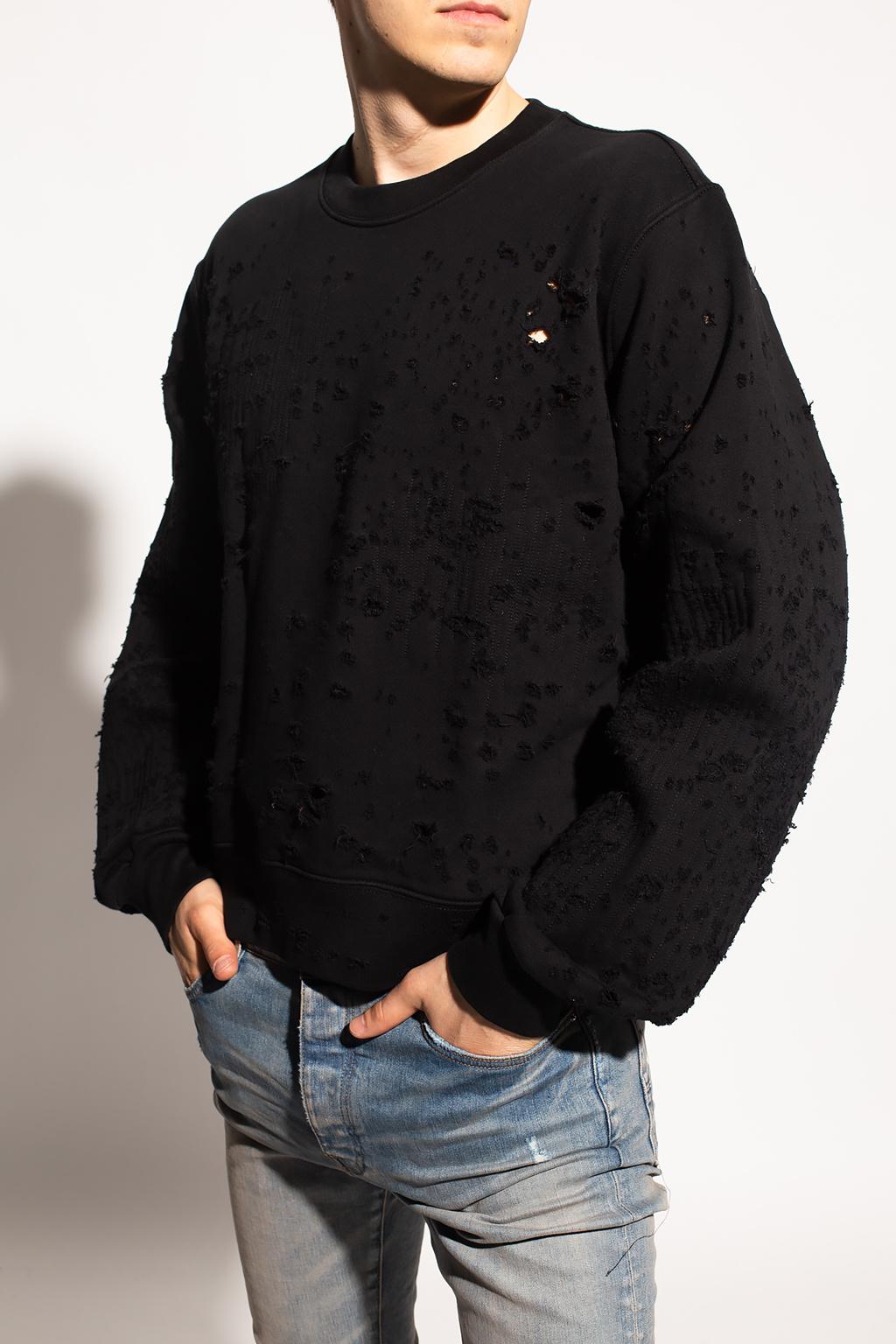 Amiri Sweatshirt with decorative holes