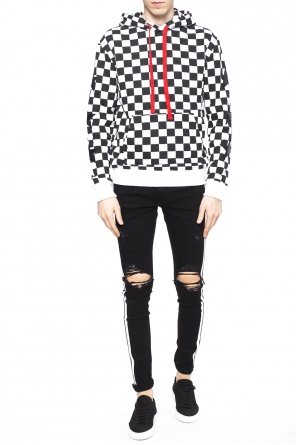 Patterned sweatshirt od Amiri