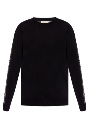 Logo-embroidered sweatshirt od Michael Kors