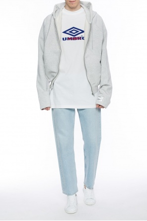 Patched sweatshirt od Vetements
