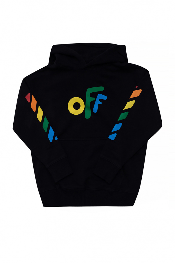 Off-White Kids Hoodie with logo
