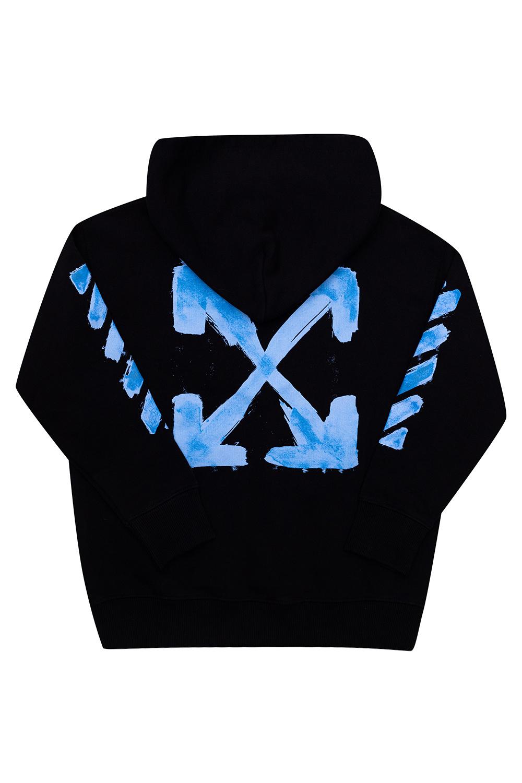 Off-White Kids Logo hoodie