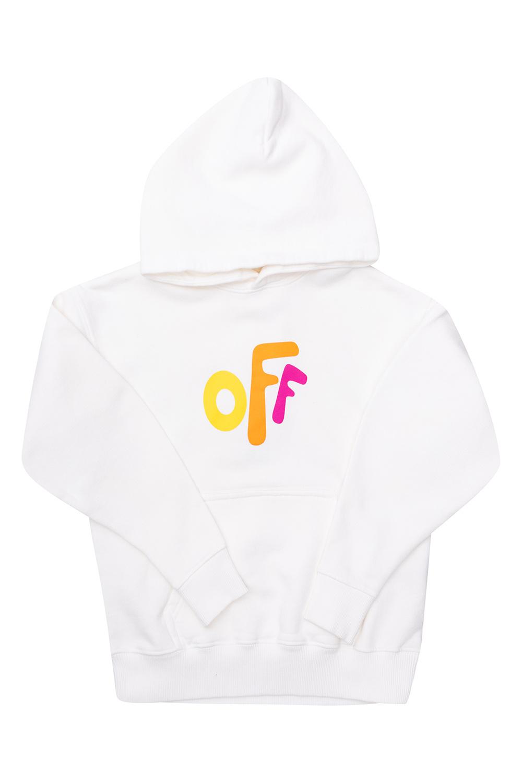 Off-White Kids Printed hoodie