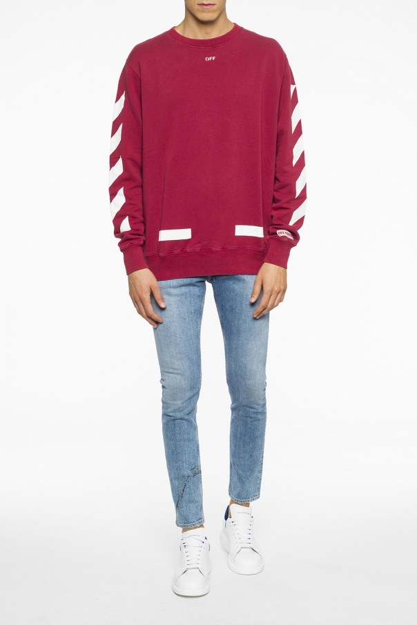 Logo-printed sweatshirt od Off White