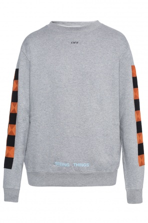 Sweatshirt with inserts od Off White