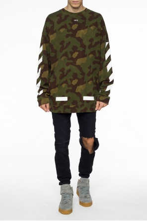 Camo sweatshirt od Off White