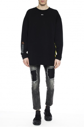 Raw-trimmed sweatshirt od Off White