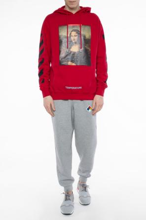 Printed oversize sweatshirt od Off White