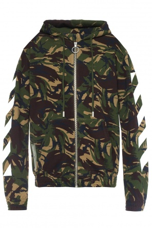Camo motif sweatshirt od Off White