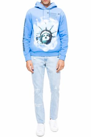 Statue of liberty sweatshirt od Off White