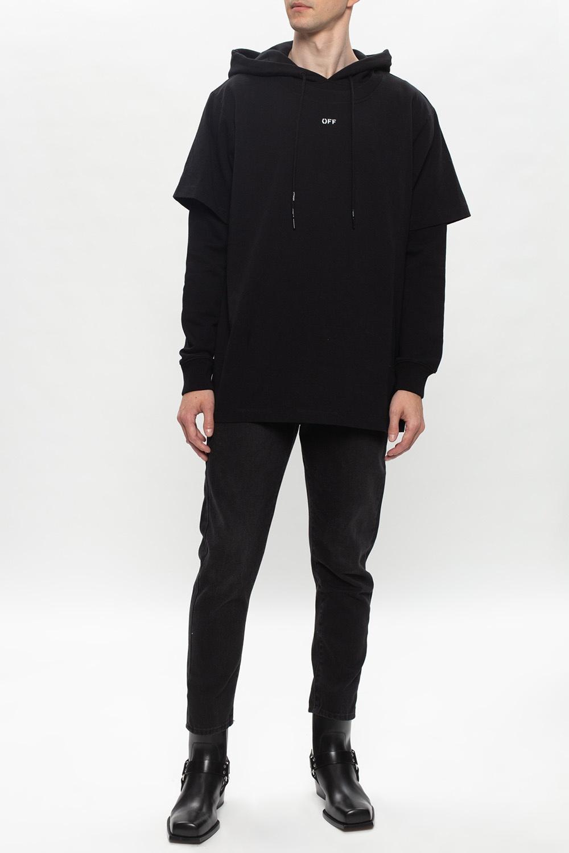 Off-White T-shirt hoodie