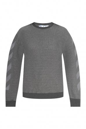 Logo-printed sweatshirt od Off-White