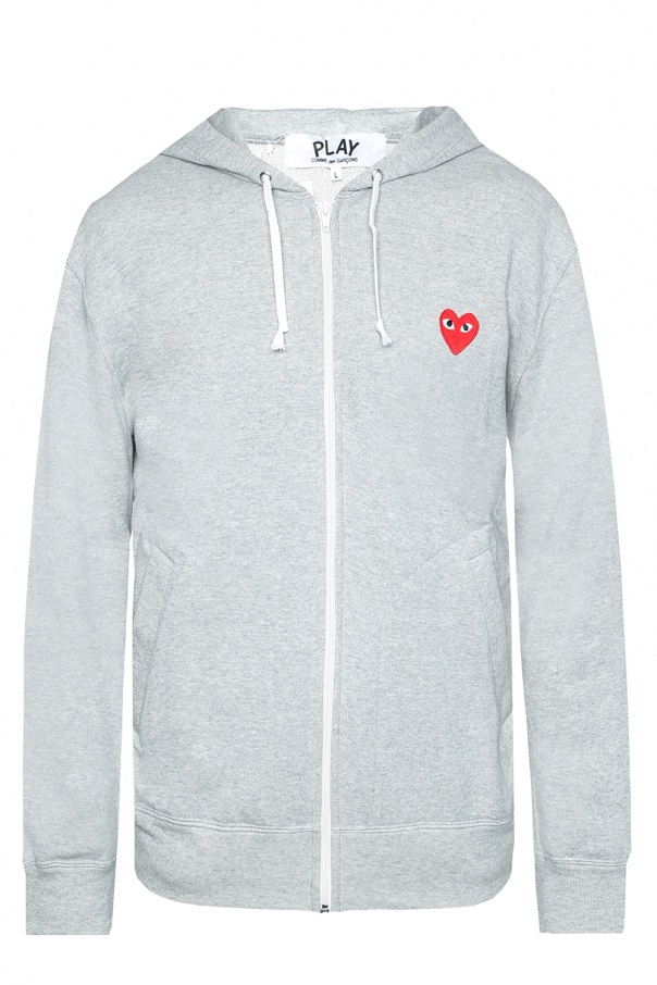 f21301b40ff9c5 Patched sweatshirt Comme des Garcons Play - Vitkac shop online