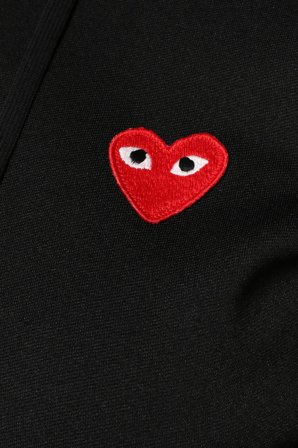 Comme des Garcons Play Patched sweatshirt