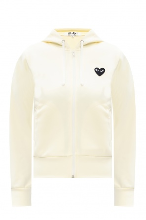 Branded hoodie od Comme des Garcons Play