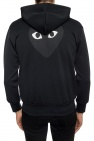 Comme des Garcons Play Hoodie with a heart motif