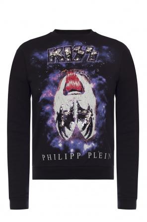 Printed sweatshirt od Philipp Plein