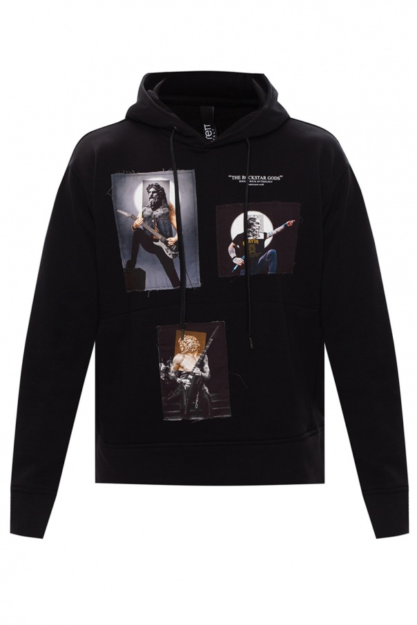 Neil Barrett Patched hoodie