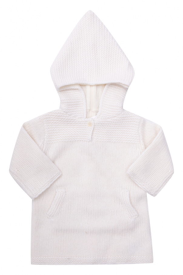 Bonpoint  Cashmere dress with hood