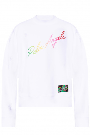 Sweatshirt with logo od Palm Angels