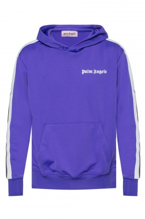Hooded sweatshirt with logo od Palm Angels