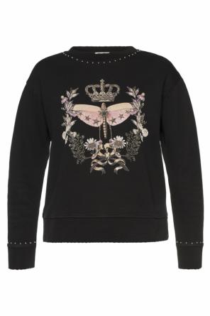 Printed sweatshirt od Valentino Red