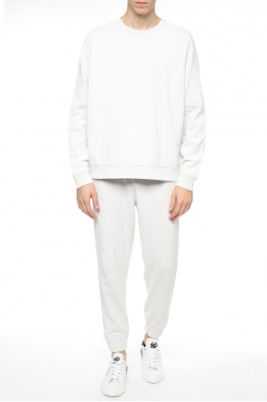 Oversize sweatshirt with holes od Allsaints