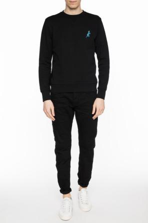 Sweatshirt with embroidered 'dino' motif od Paul Smith