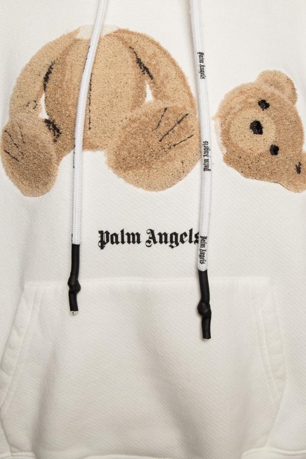 Palm Angels Bluza z logo lpdvi1dP