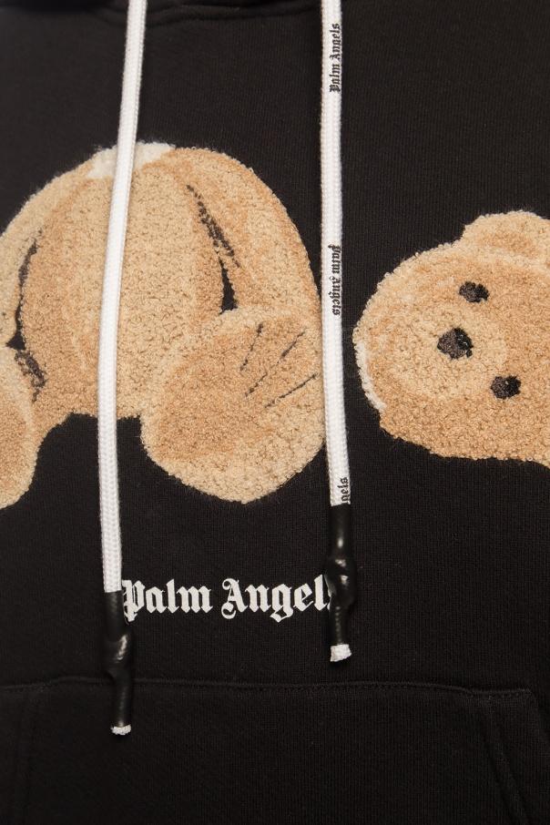 Palm Angels Bluza z logo FXwhG9Cu