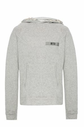 Hoodie with a logo od R13