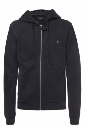 'raven' logo-embroidered sweatshirt od AllSaints