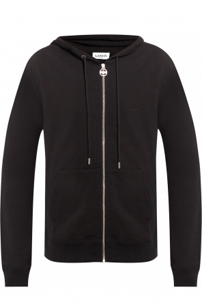 Hoodie with logo od Lanvin
