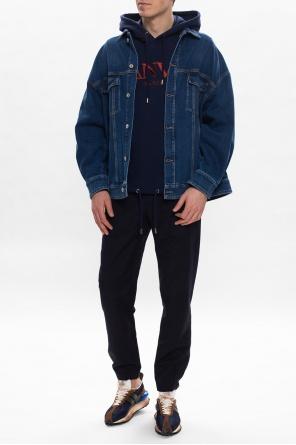 Branded hoodie od Lanvin