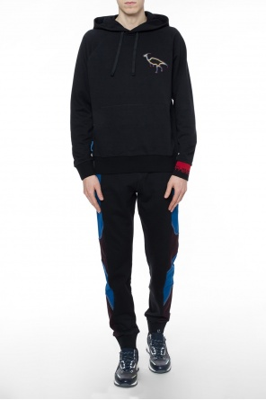 Sweatshirt with patches od Lanvin
