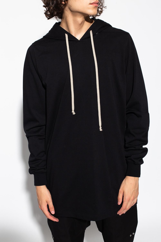 Rick Owens Jersey hoodie