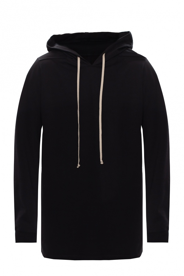Rick Owens Long-line hoodie