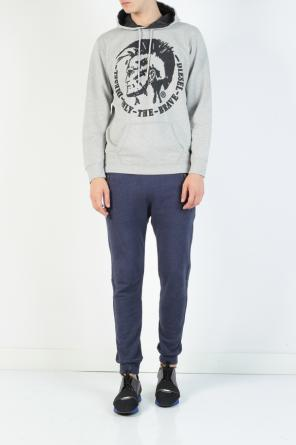 Embroidered logo sweatshirt od Diesel