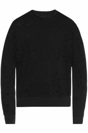 Sweatshirt with holes od Diesel