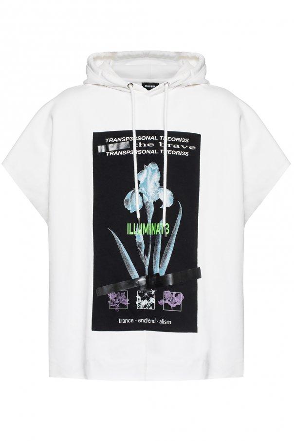 wspaniały wygląd 100% najwyższej jakości dobra tekstura Sleeveless sweatshirt Diesel - Vitkac shop online