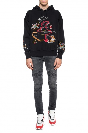Embroidered sweatshirt od Diesel