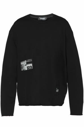 Patched oversize sweatshirt od Diesel