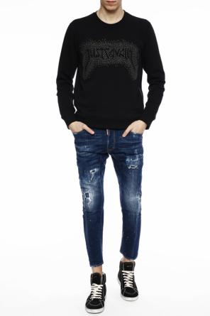 Studded sweatshirt od Just Cavalli