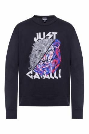 Logo-printed sweatshirt od Just Cavalli