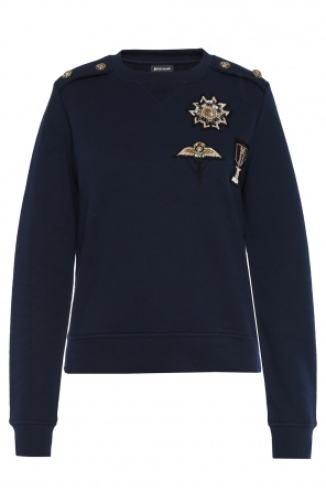 Appliqued sweatshirt od Just Cavalli