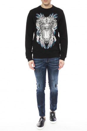Printed sweatshirt od Just Cavalli