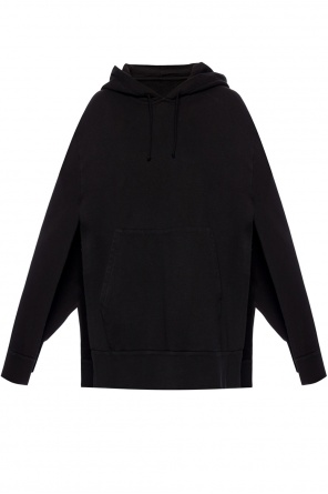 Poncho with sweatshirt effect od Maison Margiela