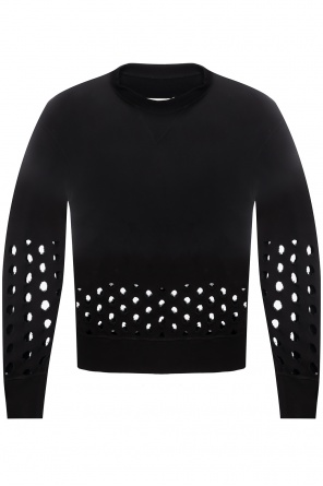 Sweatshirt with cut-out details od Maison Margiela