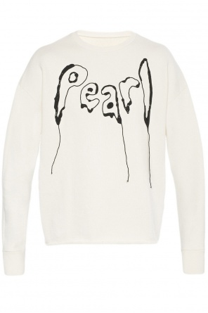Embroidered lettering sweatshirt od Maison Margiela