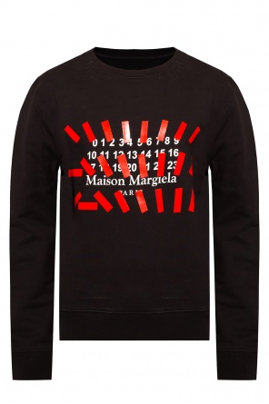 Logo-printed sweatshirt od Maison Margiela